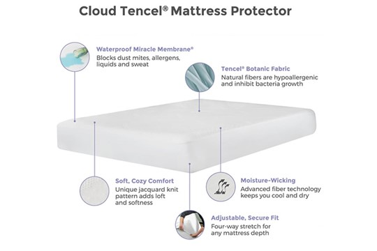 Cloud Mattress Protector