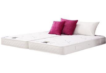 Jasmine Zip And Link Mattress - 5'0'' (150cm) x 6'6'' (200cm)