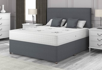 Monarch 1500 Divan - 4'6'' x 6'3'' Double Charcoal