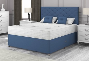 Natural Choice 1500 Divan - 4'6'' x 6'3'' Double Sapphire
