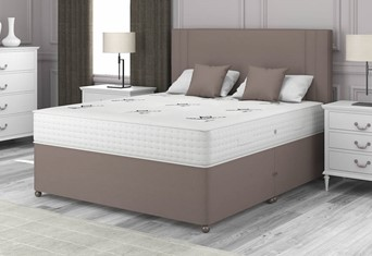 Natural Choice 3000 Divan - 4'6'' x 6'3'' Double Slate