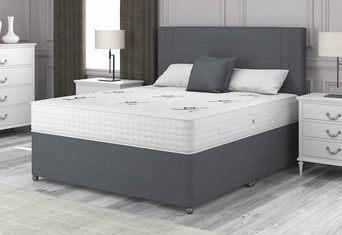 Pocket Dream 1000 Divan - 4'6'' x 6'3'' Double Charcoal