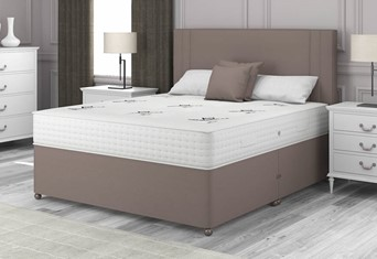 Pocket Dream 1000 Divan - 4'6'' x 6'3'' Double Slate