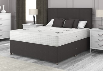 Natural Choice 2000 Divan - 4'6'' x 6'3'' Double Truffle