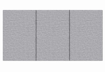 Tulip Headboard - Grey Small Single 2'6''
