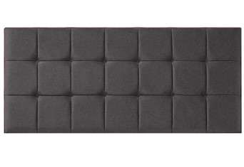 Quad Headboard - Charcoal King 5'0''