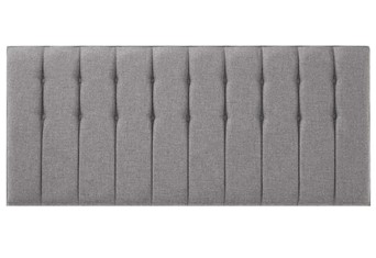 Saville Headboard - Platinum Small Single 2'6''