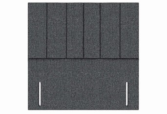 Iris Floor Standing Headboard - Super King 6'0'' Charcoal