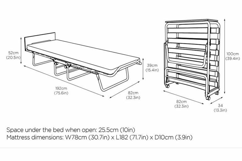 Taw Folding Bed