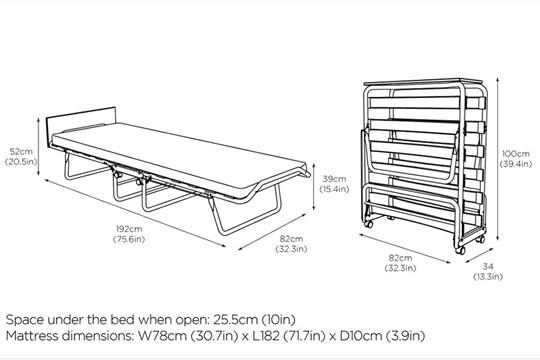 Derwent Folding Bed