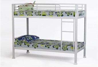 Thore Metal Bunk Bed - White