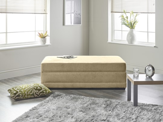 Boston Compact Fabric Boxbed
