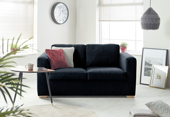 Colorado Fabric Sofabed - 2 Seater Midnight