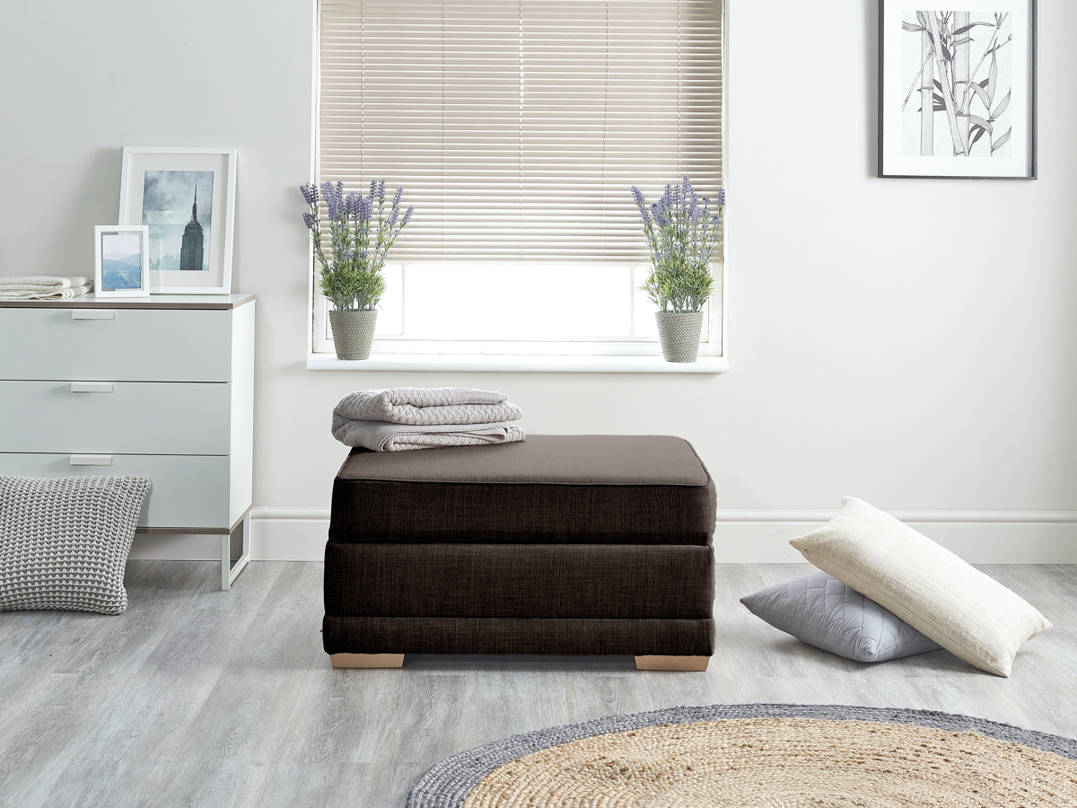 Picture of: Contract Fabric Small Single Boxbed Ideal For Small Spaces Scoop