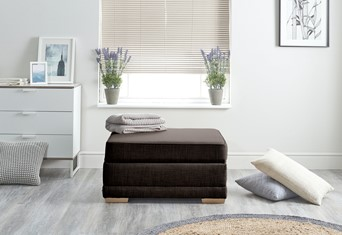 Scoop Fabric Boxbed - Brown