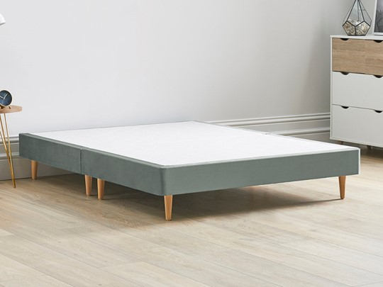 Divan Contract Bed Base On Wooden Legs